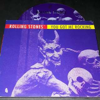 Rolling stones  (you got me rocking) ep cd