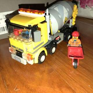 LEGO City - Transport - 60018 Cement Mixer