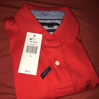 Tommy Hilfiger Polo (Red)