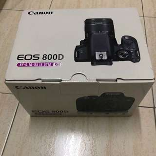 EOS 800D Canon Empty box only