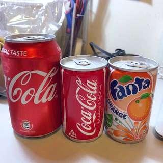 迷你可樂+芬達(日本)HKD30 兩支