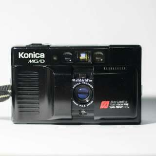 Konica MG Auto Focus Point and Shoot 35mm Film Camera