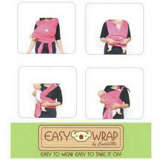 Baby carrier EASY WRAP by CuddleMe