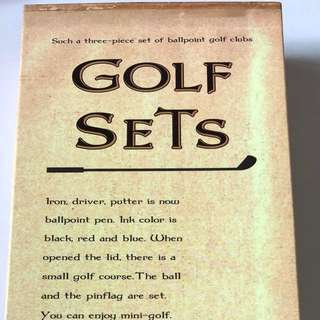 Great gift- Golf set stationery (selling outside for $24)