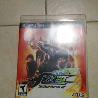 Ps3 Playstation, Kof13, King Of Fighters