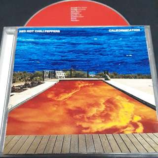 Red hot chili peppers (Californication) cd rock