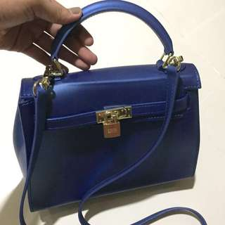 Matte Beachkin Blue Bag