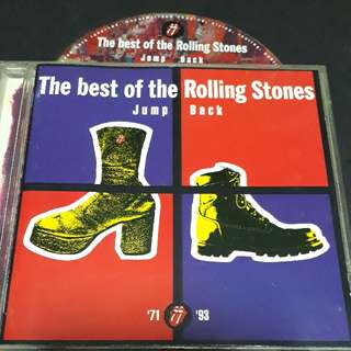Rolling stones (jump back '71 - '93) cd rock
