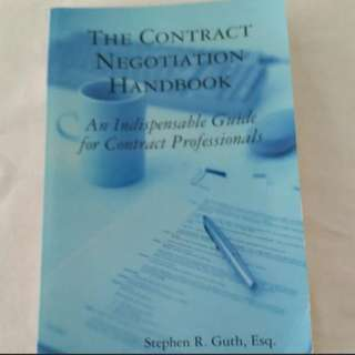 The Contract Negotiation Handbook