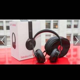 Beats wireless solo 3 black 黑色 無線 耳機