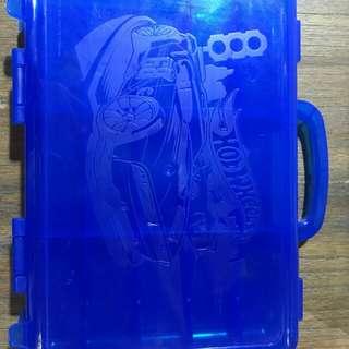 Carry case hot wheels 15pcs (Blue)