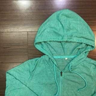 🚚 草綠防曬外套 全新!
