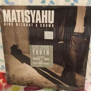 "Matisyahu - 7"" vinyl record single - unopened original promo"