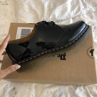 Dr. Martens Black Patent Shoes