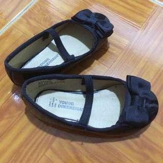 Black Formal Shoes w Ribbon