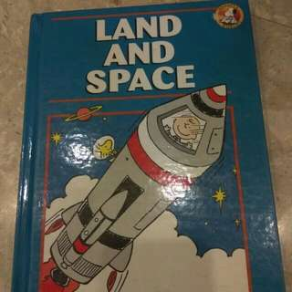 Snoopy's World Encyclopedia - Land and Space