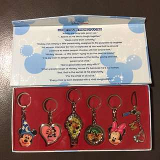 Disney Mickey Mouse Keychains (Limited Ed)