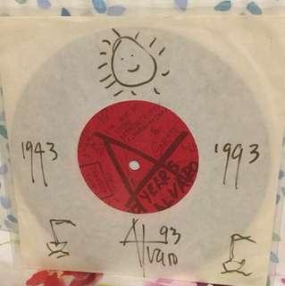 "Alvaro Mariposa - autographed - 7"" vinyl record single"