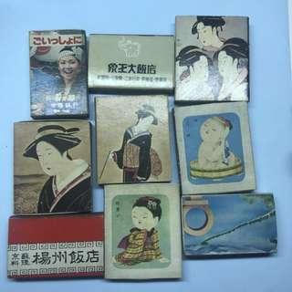 🚚 日本台灣中國各式懷舊火柴盒 matchbox