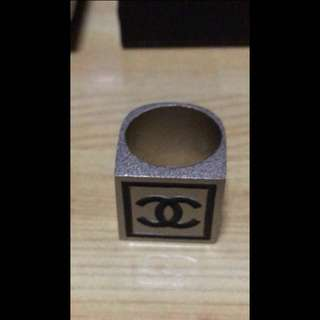 Chanel Square Ring 99% New