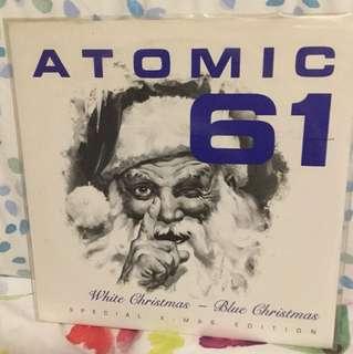 "Atomic 61 - 7"" vinyl record single - underground grunge era"