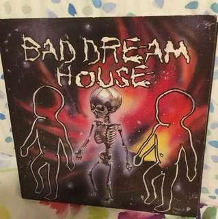 "Bad Dream House - 7"" vinyl record single - underground punk metal USA"