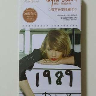 Taylor Swift 1989 D.L.X. Share Postcard (90 pieces)