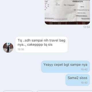 Testi VIP Gift Travel Bag