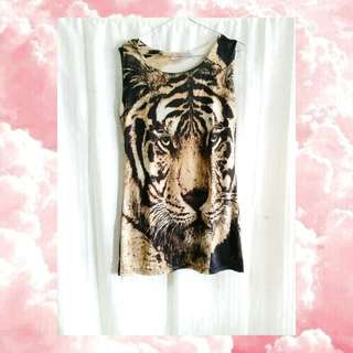 Tiger Mini Bodycon Dress