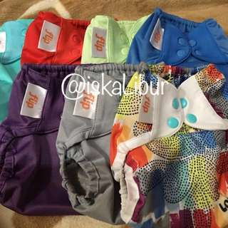 REPRICED: Flip Diaper Covers & Unbranded Inserts
