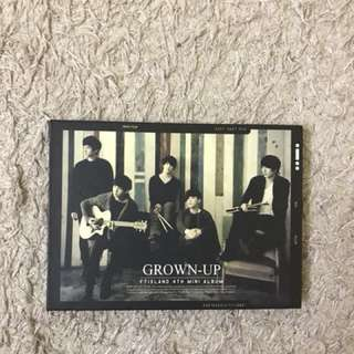 FT ISLAND 4TH MINI ALBUM GROWN UP