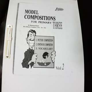 P3 model composition. Picture and continuous. Vocabulary vol 2. Via email -$1 or Hard copy $2