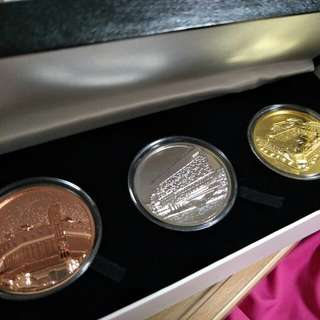 Our Tampines Hub (OTH) grand opening ceremony commerative coins