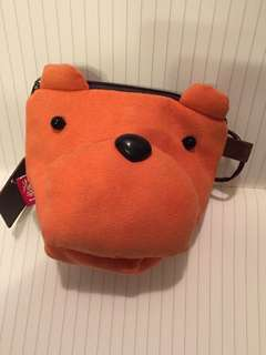 Cute dog wallet/pouch for girls