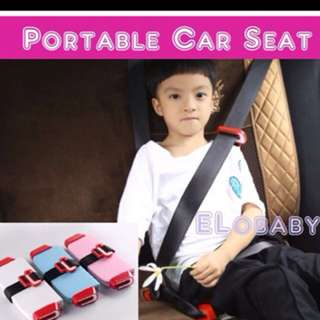 Portable Safety Car Seat Booster★Compact★Kids Travel Car Seat★For Uber/Grab★Must Have for Young Kids
