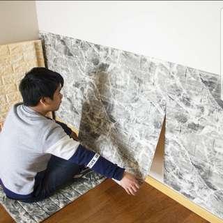 雲石紋牆貼   4塊