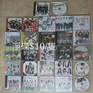 韓星 專輯 淨碟 官方 CD