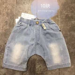 Jeans shorts for boys