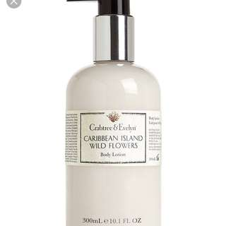 Crab tree & Evelyn Caribbean Island Wild Flowers Body Lotion 300ml