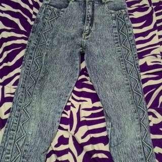 Celana Jeans Wash Original CC .