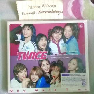 Wts One More Time B Ver  (Cd,dvd,album)  Pm Me For Price