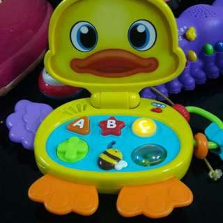 tablet learning music duck