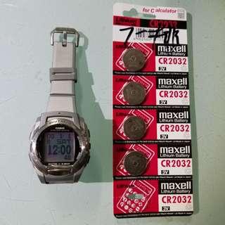 casio 影相手錶 功能正常,送電一排,此錶相當食電,如以前無玩過,不建議購買,老香港懷舊物品古董珍藏