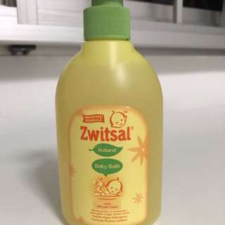 Zwitsal Baby Body Wash - with Minyak Telon (Full Size - 330ml)