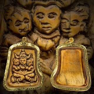 Phaya Kao Kam Deity by Kruba Wang, Wat Banden