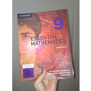 CAMBRIDGE ESSENTIAL MATHEMATICS 9 (SECOND EDITION)