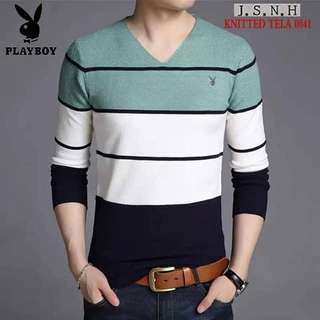 KNITTED MENS LONG SLEEVE