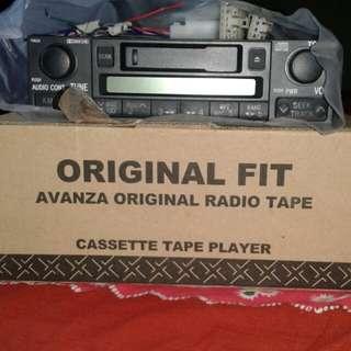 Tape radio bawaan Avanza/ Xenia masi 100% baru