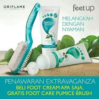 Feet up comfort all day refreshing care foot cream