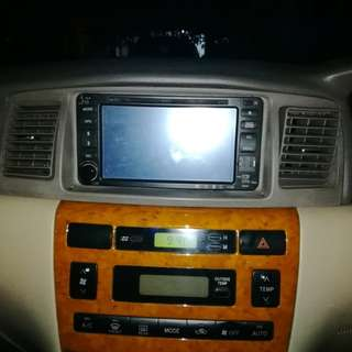 Double din dvd player 7in